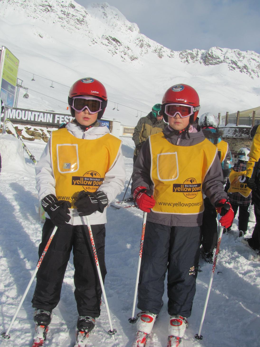 fetele la schi