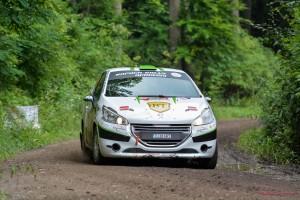 Florin Tincescu  Iulian Nicolaescu - Peugeot 208 R2 - Raliul Moldovei