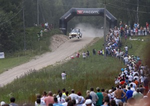 AUTO - ERC ESTONIA RALLY 2014