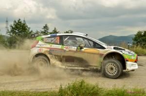 Marco Tempestini  Toni Avram - Ford Fiesta R5