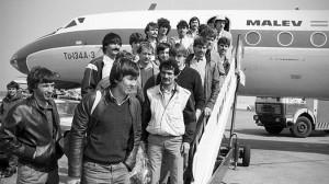 Sport - Labdarúgás - Hazaérkezik a Videoton csapata