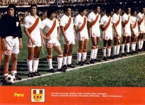 Peru 78 Home Team